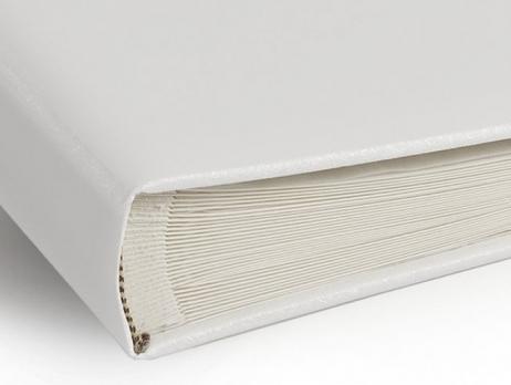 Libro de firmas - BLANCO CON FRANJA VERDE