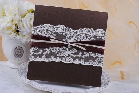 Invitación de boda - PARIS MARRON