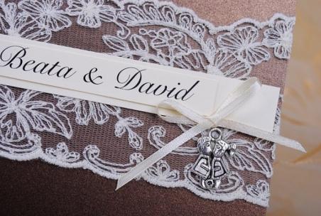 Invitación de boda - PARIS MARRON