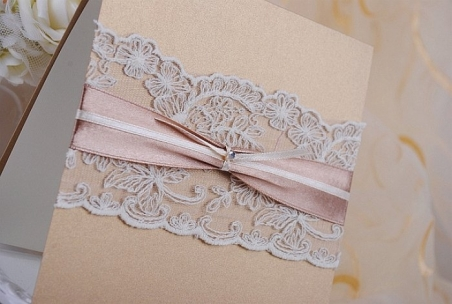 Invitación de boda - PARIS DORADO