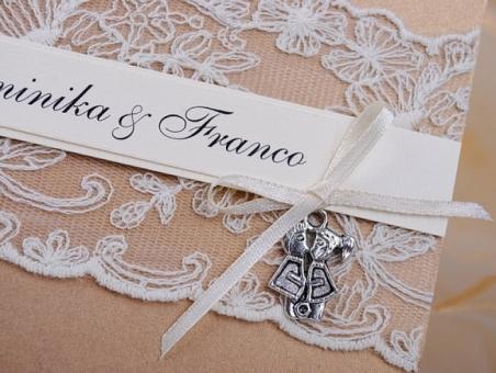 Invitación de boda - PARIS 2 DORADO