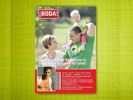 Invitación de boda con hijos REVISTA BODA  (Mil1)