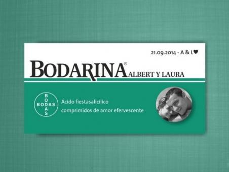 Invitación de boda - BODARINA  (MIL7)