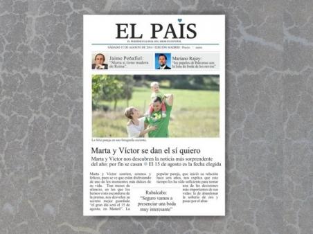 Invitación de boda - EL PAIS  (MIL8)