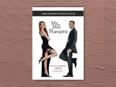 Invitación de boda - MR&MRS SMITH  (MIL16)