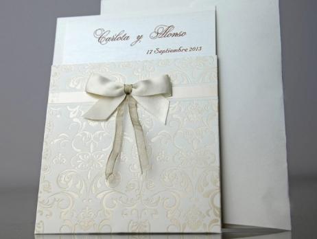 Invitación de boda - ELEGANTE BEIS    CARD 34904