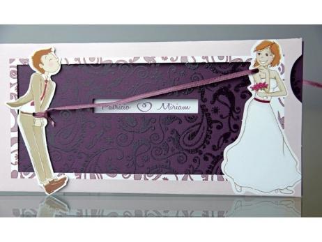 Invitación de boda - ERES MIO    (C93234)