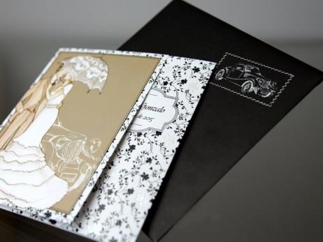 Invitación de boda - ELEGANTE  (CARD 34944)