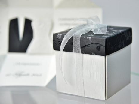 Invitación de boda - CAJA ELEGANTE    (C95134)