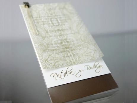 Invitación de boda - ELEGANTE    (CARD 34952)