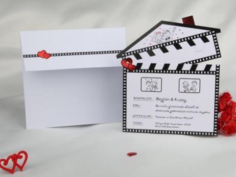 Invitación de boda - CLAQUETA    (CARD 50614)