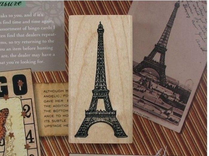 Sello París Torre Eiffel  ref.9649