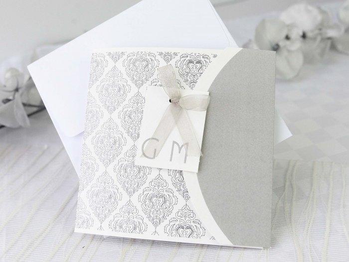 Invitación de boda -  ELEGANTE CON FOTO   (A60032)