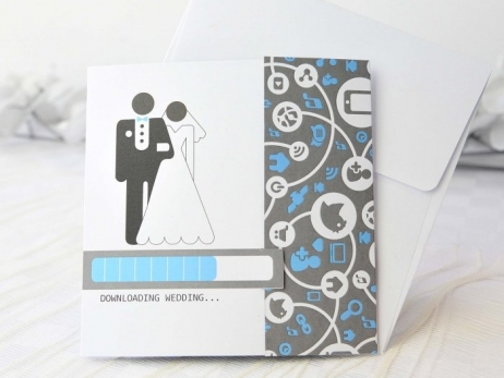 Invitación de boda -  INFORMATICA    (A62232)