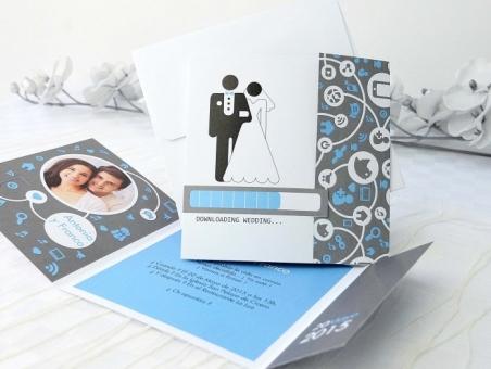 Invitación de boda con foto 32622