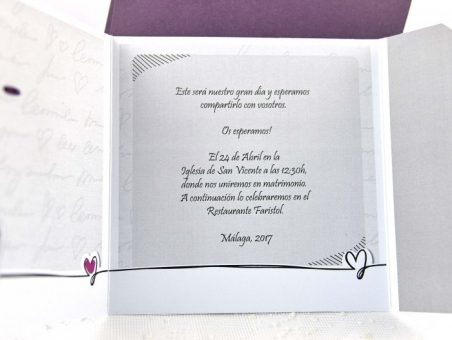 Invitación de boda barata divertida 32641