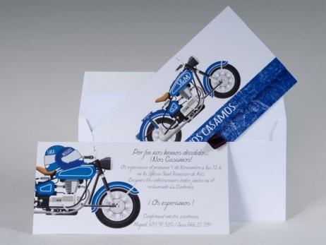 Invitación de boda - MOTO (MA.9)