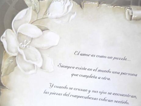 Invitación de boda - PERGAMINO   (CARD 30109)