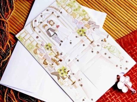 Invitación de boda - IGLESIA    (CARD 31301)