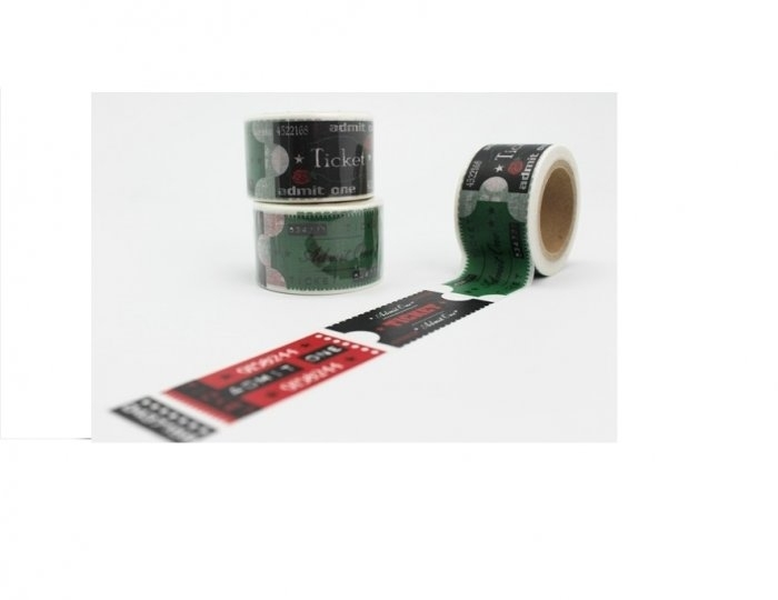 Cinta adhesiva Washi Tape 30mm x 10 metros DS-142