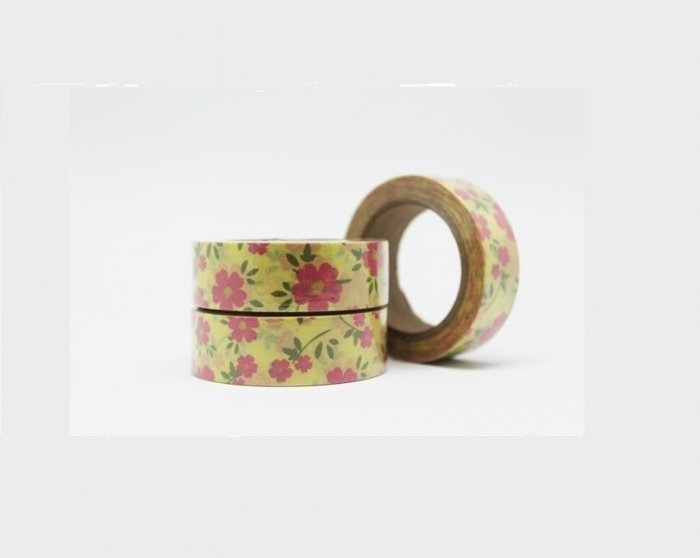Cinta adhesiva Washi Tape 15mm x 10 metros DS-107