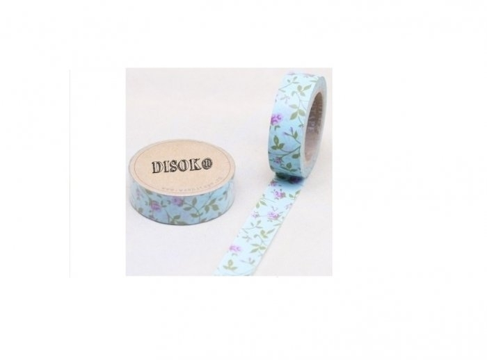 Cinta adhesiva Washi Tape 15mm x 10 metros DS-132