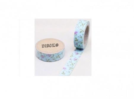 Cinta adhesiva Washi Tape 15mm x 10 metros DS-132