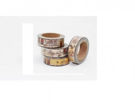 Cinta adhesiva Washi Tape 15mm x 10 metros DS-133