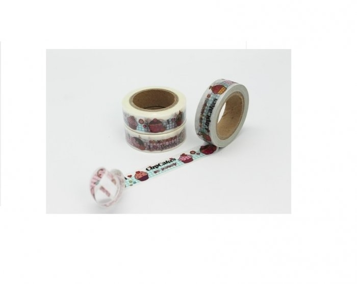 Cinta Adhesiva Washi Tape 15MM X 10 Metros DS-137