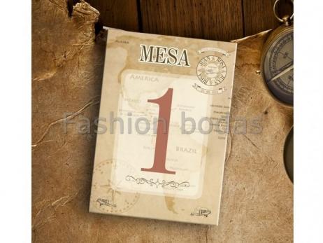 Mesero (Indicador nº de Mesa) - COLECCIÓN VIAJE NM20-620