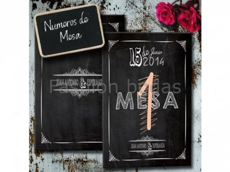 Mesero (Indicador nº de Mesa) - COLECCIÓN PIZARRA NM20-630