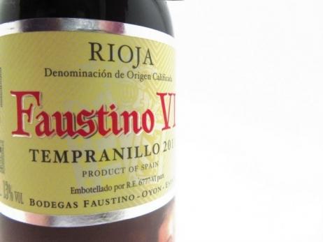 Detalle de boda - Botella de vino FAUSTINO VII (RIOJA)  ref. FAU