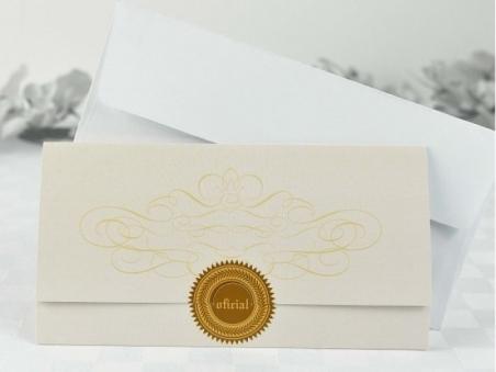 Invitación de boda original documento 32617