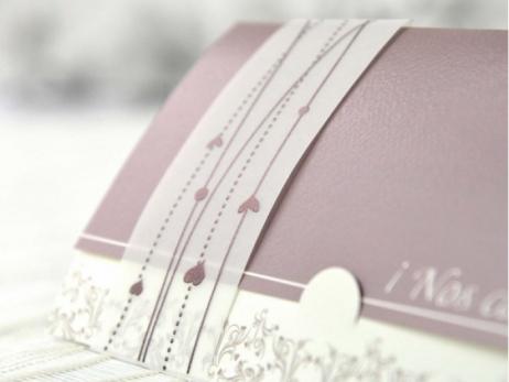 Invitación de boda - ELEGANTE   (A65732)
