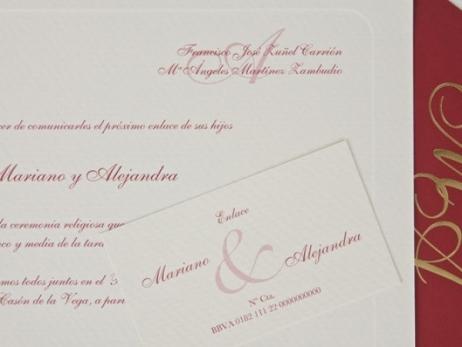 Invitación de boda - CLÁSICA ES 324