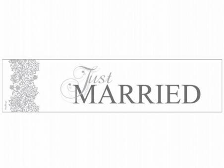 MATRICULA PARA COCHE NOVIOS  Just Married 2