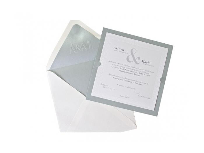 Invitación de boda - CLASICA ES 538