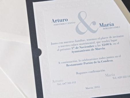 Invitación de boda - ES 539