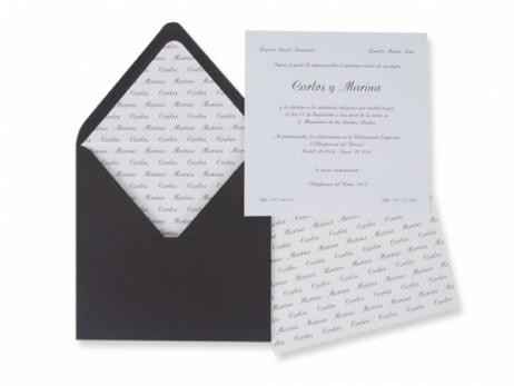 Invitación de boda - CLASICA ES 540