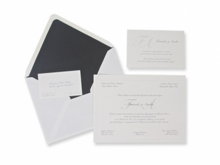 Invitación de boda - ES 545