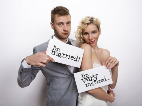 CARTEL PARA PHOTOCALL  I´m married
