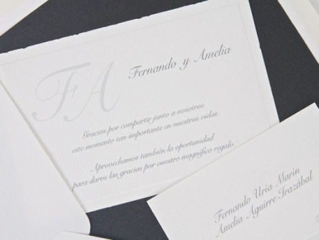 Invitación de boda - CLASICA  ES 545