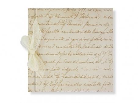 Libro de firmas - MANUSCRITO