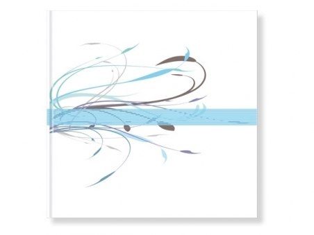 Libro de firmas - DIBUJO azul