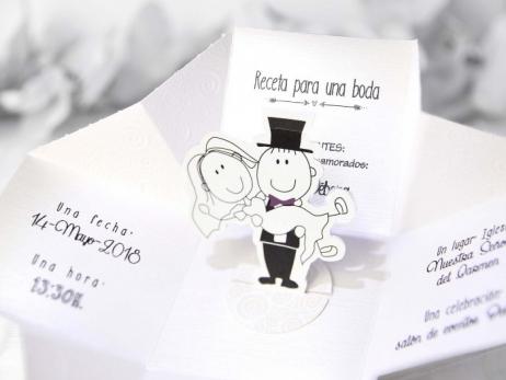 Invitación de boda -  CAJA NOVIOS    (C21139)