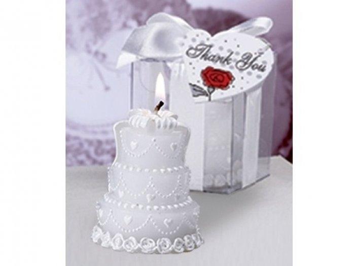 Detalle de boda - VELA PASTEL NOVIOS ref. 2502