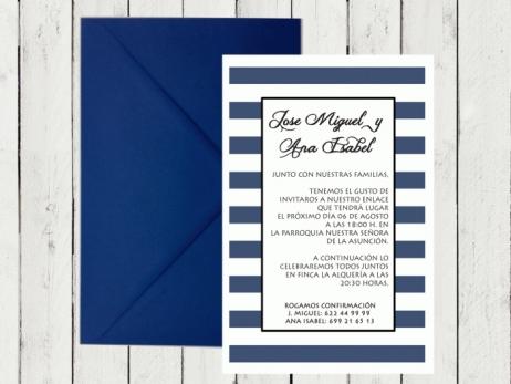 Invitación de boda - MARINERA 2
