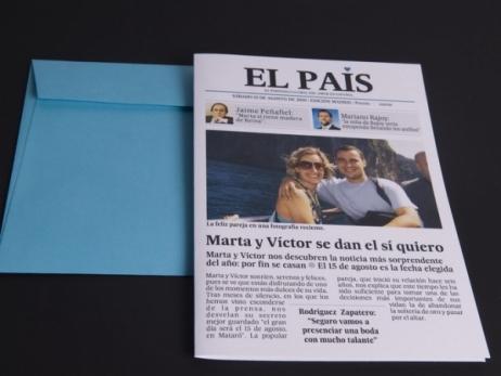 Invitación de boda - EL PAIS  (MA.11)