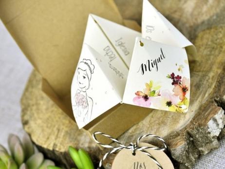 Invitación de boda - COMECOCOS   (C31039)