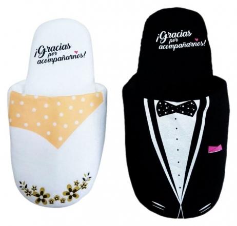 Detalle de boda - PANTUFLAS ALGODÓN ref. 9241